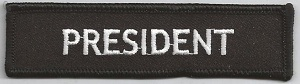 President- Patch